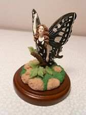 Black-and-white butterfly woman, figurine, from Hallmark Store