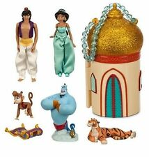 Disney Store Jasmine Mini Castle Diamond Edition Aladdin Princess dolls Play set