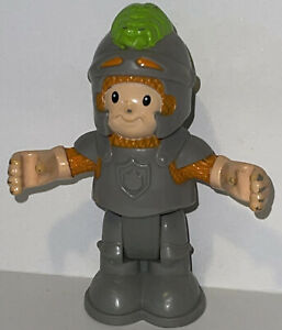 Fisher Price Little People Castle Knight Ethan Jointed Figure Figurine