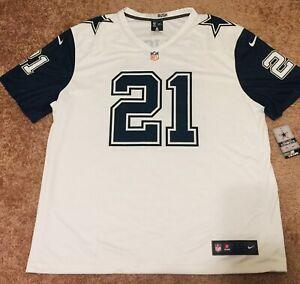 100% Authentic Nike Ezekiel Elliott Dallas Cowboys Color Rush ...