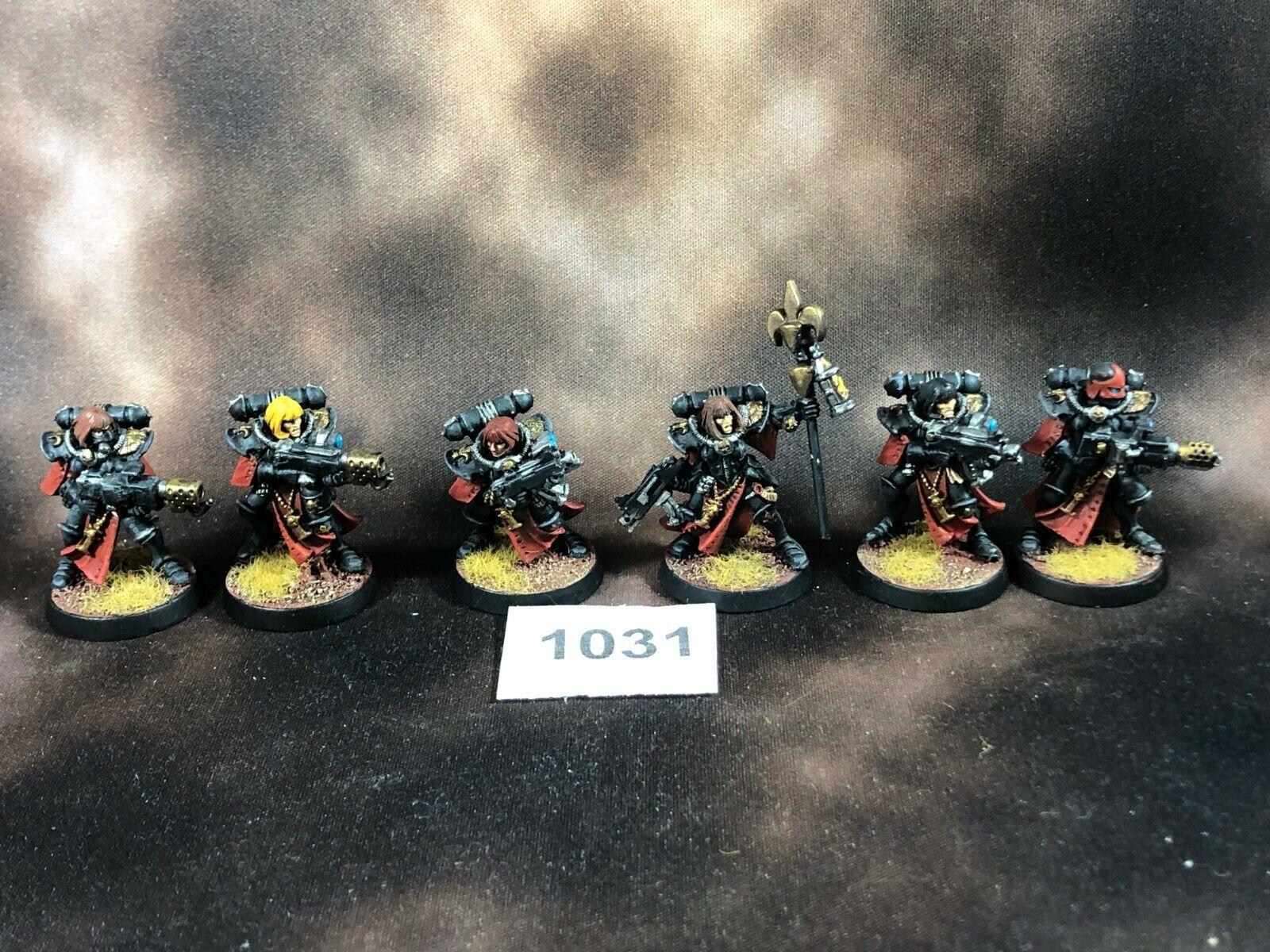 Warhammer 40k Soeurs de bataille Adeptus Sorritas METAL FLAMERS peint   magasin d'offre