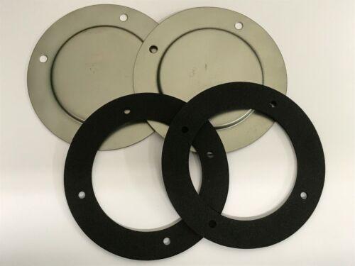 CLASSIC AUSTIN ROVER MINI FRESH AIR BULKHEAD BLANKING PLATES /& GASKETS ALA6292