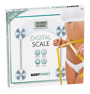 Square Digital Scale 180kg Healthy BMI Weighing Transparent Bathroom Scale