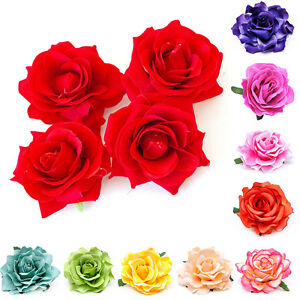 sensation de confort conception populaire dernière sélection de 2019 Détails sur Femme Pince Cheveux Fleur Rose Tissu Barrette Broche Epingle  Clips Bijoux Cadeau