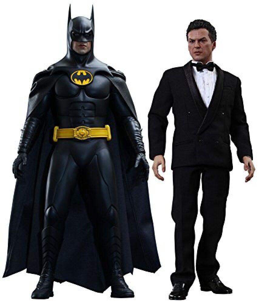 Hot Toys Movie Masterpiece Batman Returns BATMAN & BRUCE WAYNE 1/6 Action Figure