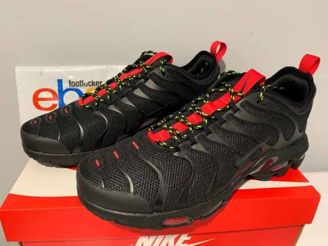 huge discount 53a88 1cb7d Nike Air Max Plus Ultra Tuned TN Black University Red AR4234-002 Men's Size  8-13