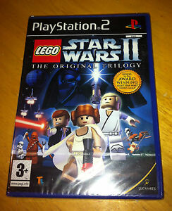 LEGO-Star-Wars-II-The-Original-Trilogy-for-Sony-PlayStation-PS2-New