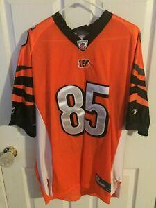 Chad Ochocinco Authentic Orange Cincinnati Bengals #85 Jersey | eBay