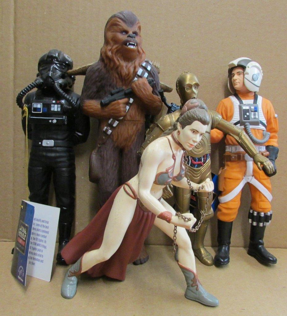 Star - wars - lucasfilm beifall slave leia keil antillen krawatte pilot chewbacca - sw25