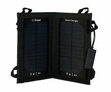 3W PORTABLE SOLAR POWER PACK PANEL USB FOLDING TRAVEL CHARGER BOOK