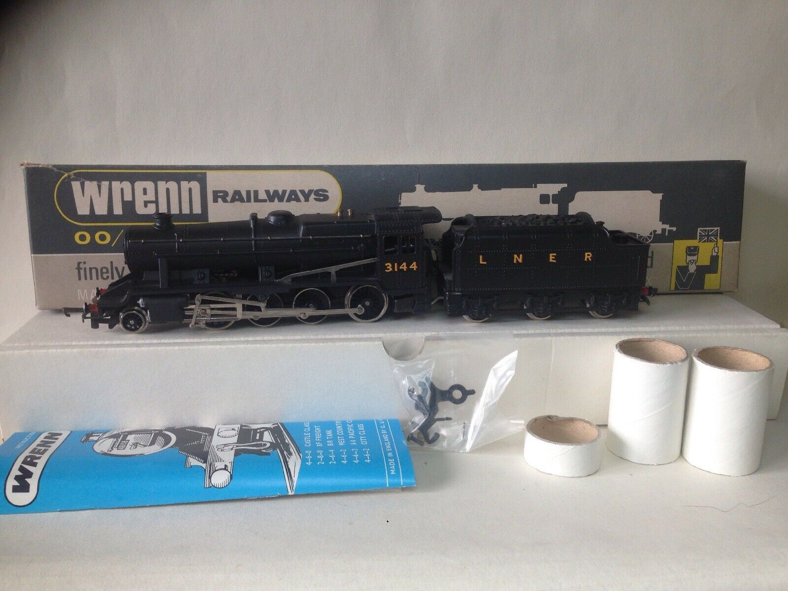 Wrenn 280 classe 8F L.N.E.R Locomotive  3144 OO Gauge Train W2240 scatolaed