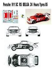 Porsche  911 RS - BELGA - Rally 24 Hours Ypres  85