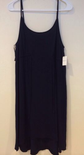 Spaghetti Navy L Nwt Maternity Dress Gap Taglia Strap pqtTwATn