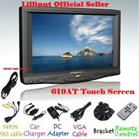 Lilliput 7 619at 1080p Camera Touch Screen Monitor Vga/av/hdmi/dvi Input