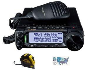 Yaesu-FT-891-HF-6M-100W-Mobile-Radio-with-FREE-Radiowavz-Antenna-Tape