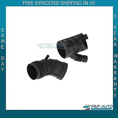 Fresh Air Intake Boot Body Hose Kit Set of 2 for BMW 323Ci 323i 325xi 328i