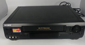 Sony-SLV-N50-VHS-VCR-Player-No-Remote-Tested