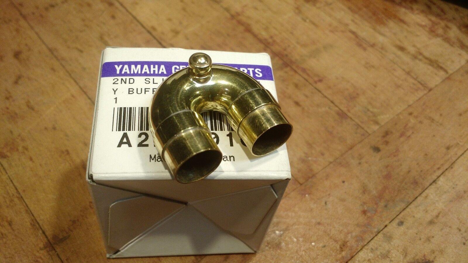 Genuine Yamaha Trumpet 2nd válvula válvula válvula de deslizamiento montaje, Laca YTR232, 2320, 4320  nuevo  2f3daa