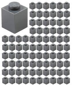 Lego Lot of 5 New Dark Bluish Gray Plates 1 x 4 Dot Pieces Parts
