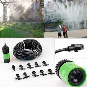 Image Is Loading 10m Garden Plants Irrigation Patio Misting Hose 10