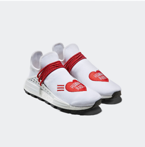 Details about New Adidas Pharrell Williams PW HU NMD Human Made EF7223 -  White, Shoes Sneakers
