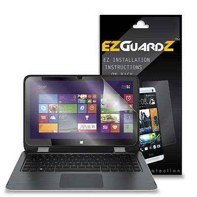 """2X EZguardz LCD Screen Protector Cover HD 2X For HP Pavilion x360 13.3/"""" 2015"""