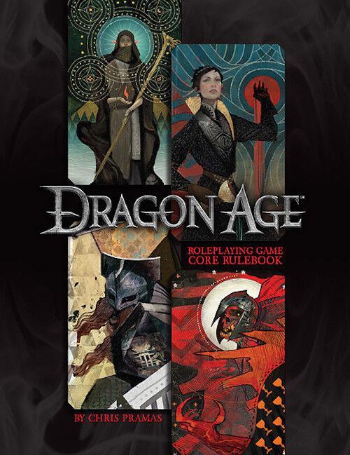 Dragon AGE RPG Core Rulelibro -  fantasyc Roleplaying gioco from verde Ronin - nuovo  grandi offerte