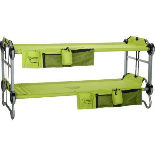 Enfants notbett, sleepover, lit de camping, lit double, lit de camp, pliant, vert
