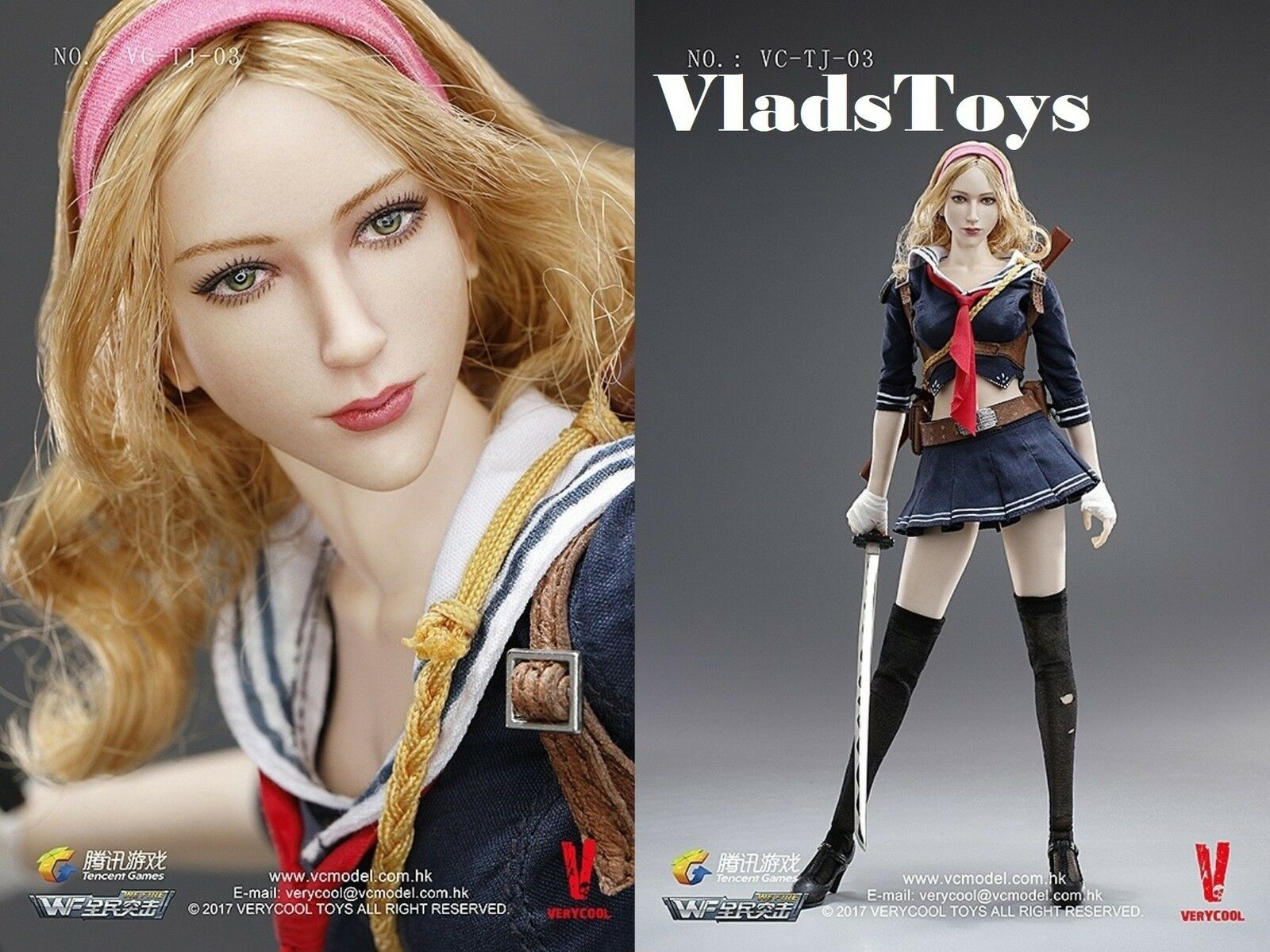 VeryCool giocattoli 16 wefire di QQ GIOCO Terza bomba Lama Girl VCTJ03 USA