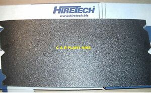 10 FLOOR SANDER ABRASIVES FOR HIRETECH HT8 GRIT 120 SANDING SHEETS