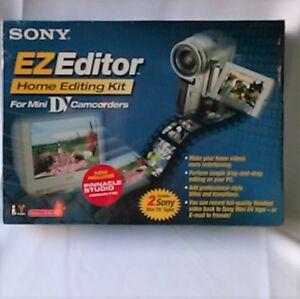 Sony-EZ-EDITOR-MiniDV-Home-Video-Editing-Kit-for-PC-Win-98-Higher-EZ-EDITOR-DV