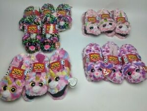Ty Beanie Boos Slipper Socks New with Tag CAT Size :  M