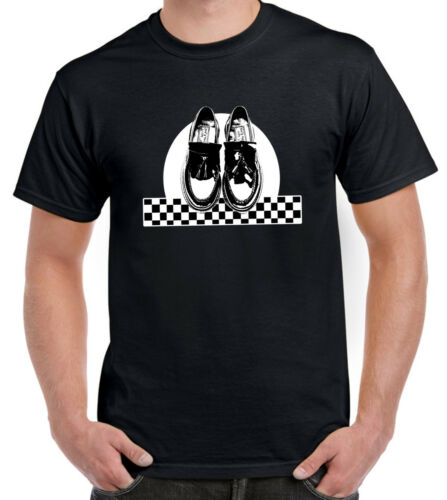 Madness The Specials 2 Tone Clothing SKA DANCING SHOES T-SHIRT