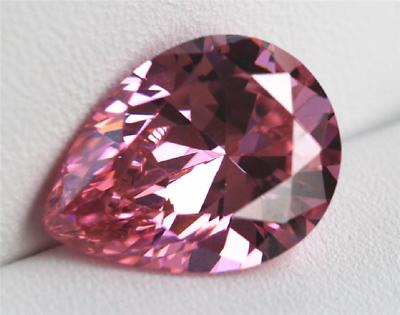 Unheated Gorgeous 13X18mm 19.53ct Pink Sapphire Pear Cut VVS1 AAAAA Loose Gem