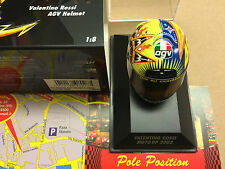 ROSSI CASCO HELMET MOTOGP 2002  397020046 MINICHAMPS 1 8 NEW VERY RARE