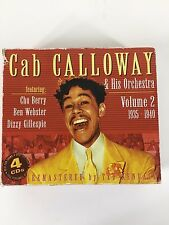 Cab Calloway & His Orchestra Volume 2 1935-1940 4 CDs Chu Berry Ben Webster