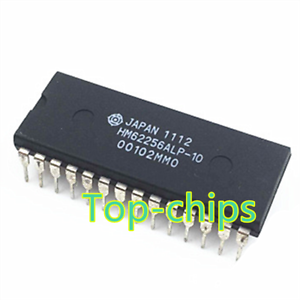 10PCS HM62256ALP-10 32,768-word x 8-bit High Speed CMOS Static RAM