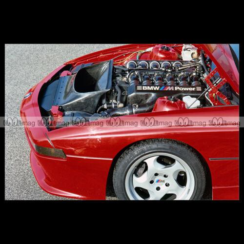 1990 ENGINE Car Auto E31 #pha.027758 Photo BMW M8 PROTOTYPE