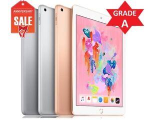 Apple-iPad-6th-9-7-034-2018-Wifi-Cellular-Unlocked-32GB-128GB-Gray-Silver-Gold
