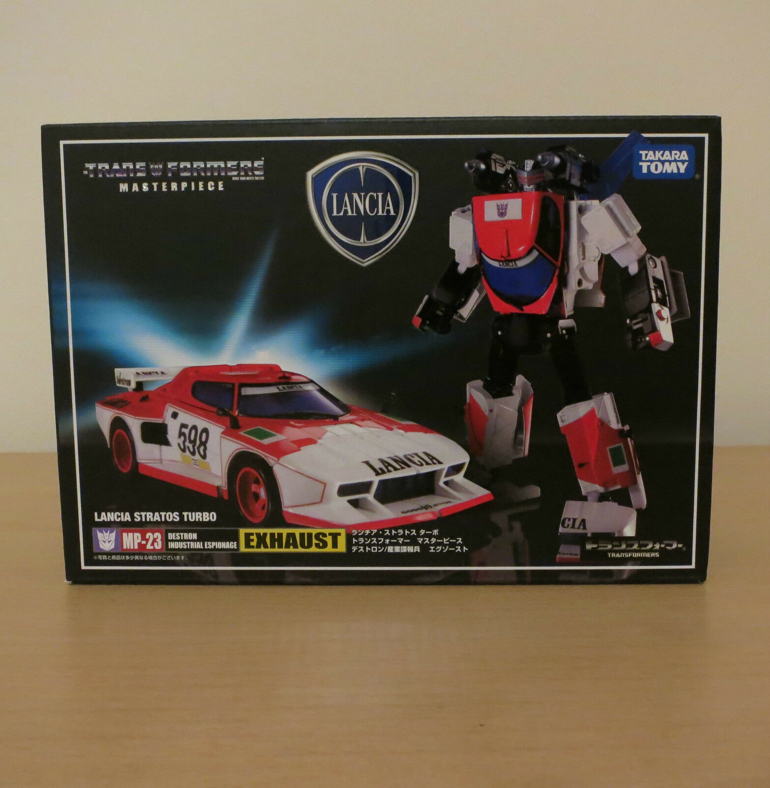 Transformers UFFICIALE Takara Tomy Masterpiece MP23 EXHAUST
