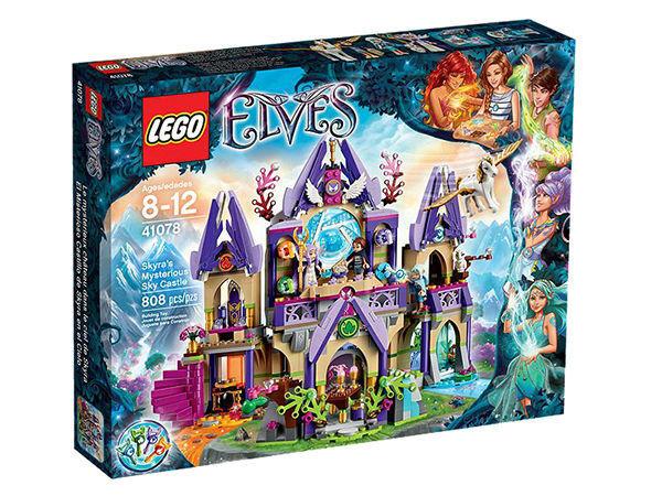 Lego Elfos Skyra's Mysterious Cielo Castillo (41078)