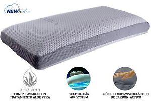 Almohada-Viscoelastica-Carbono-Tratamiento-de-Aloe-Vera-Tecnologia-Air-System