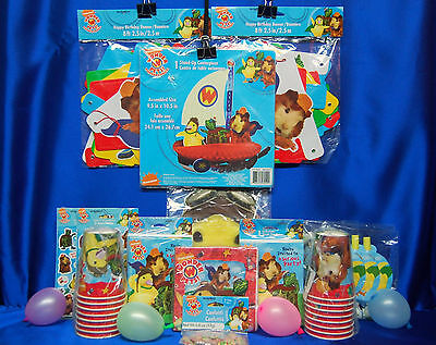 Wonder Pets Party # 12 Cups Napkins Masks Stickers Banner Blowouts stickers