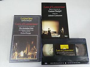 DONIZETTI-LUCIA-DI-LAMMERMOOR-AUSTRALIAN-RICHARD-BONYNGE-VHS-TAPE-LA-GRAN-OPERA