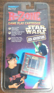 NEW-Tiger-R-Zone-STAR-WARS-JEDI-ADVENTURE-Game-Play-Cartridge-RARE