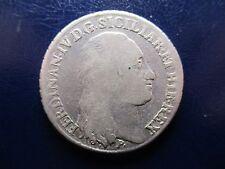 NAPOLES FERDINANDO IV INFANTE DE ESPAÑA 60 GRANA - 1/2 PIASTRA 1798