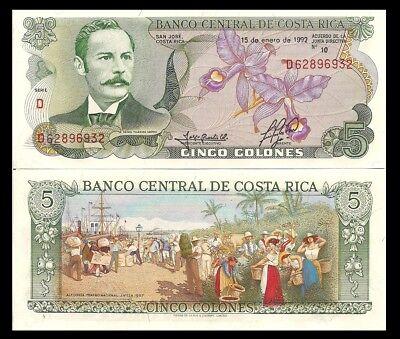 Costa Rica P264f Economist Tomás Soley Güell bldg  UNC $10 CV! 1000 Colones