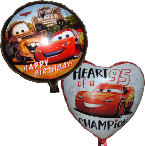 2PCES CARS LIGHTNING MCQUEEN BALLOON BIRTHDAY PARTY SUPPLIES DECORATION GIFT