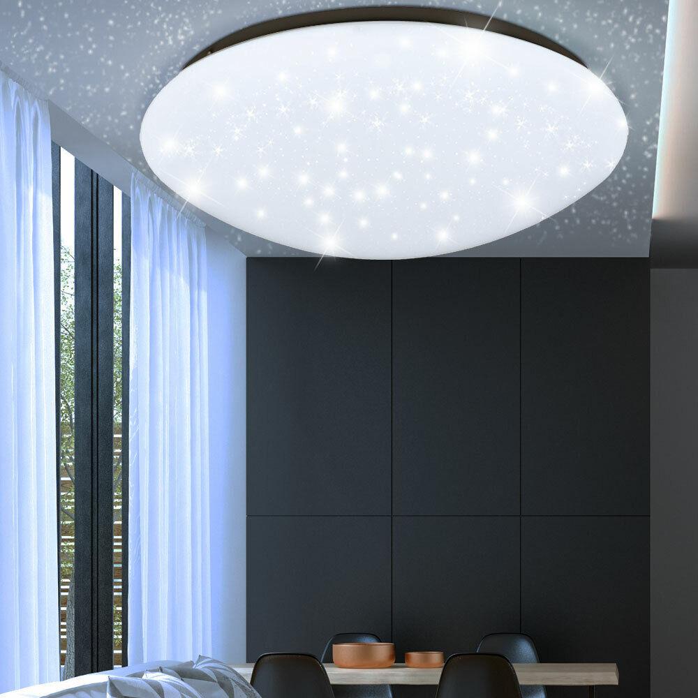 LED Sternen Himmel Effekt Leuchte Rund Bad Decken