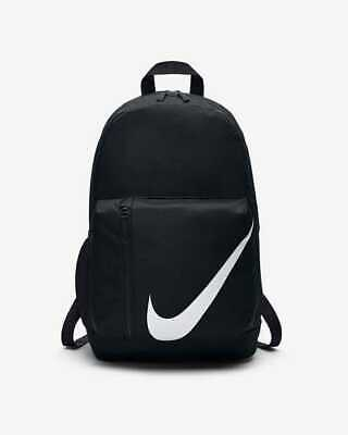 Nike Unisex Backpack Playing School Bag Black Sportswear Gym Travel Hiking Trip